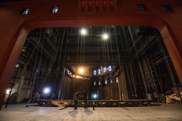 Сцена «Геликон-оперы».