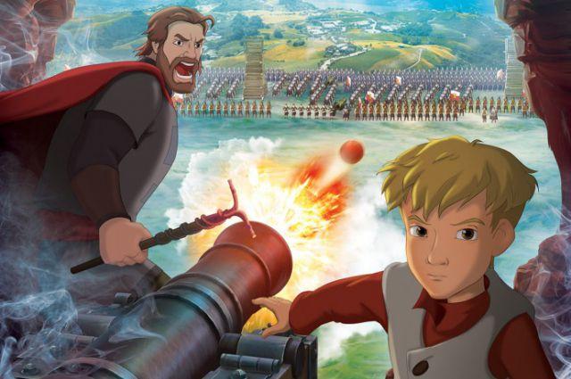 В мультфильме наравне рядом с реальным защитником Смоленской крепости воеводой Шеиным встает выдуманный персонаж - мальчик Сашка.