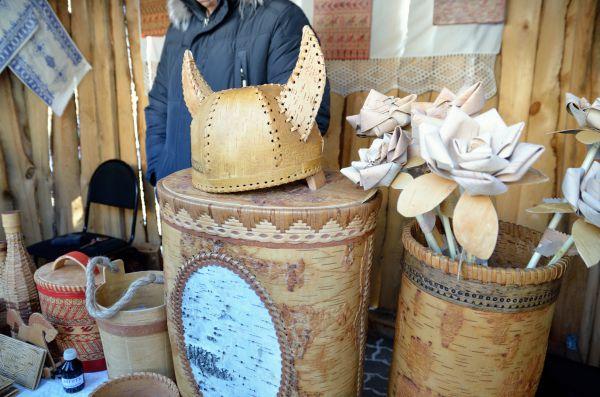 Берестяной древнегерманский шлем. Таких викинги точно не носили.