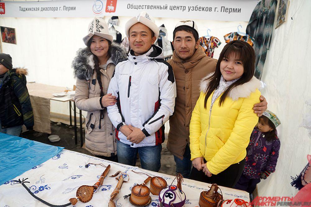 Кроме того, на площади у театра состоялся фестиваль национальных культур Пермского края.