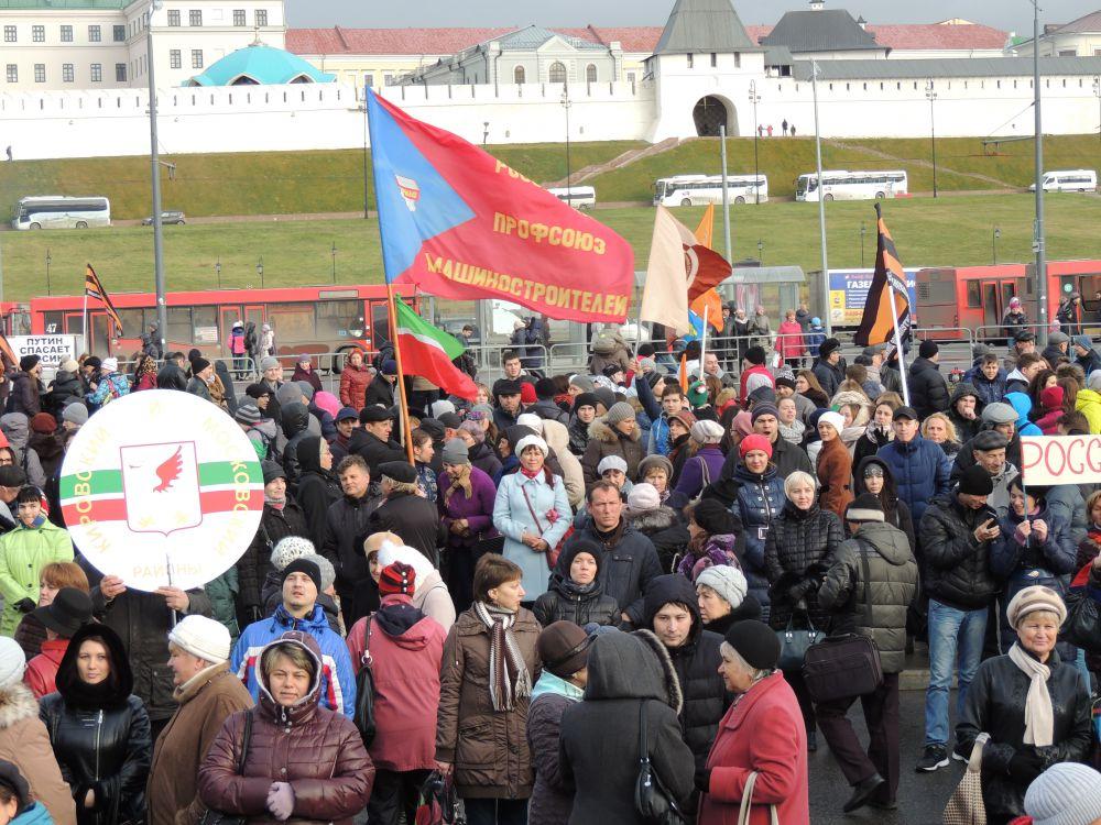 Митинги, концерты и шествия 4 ноября походят в каждом городе России.
