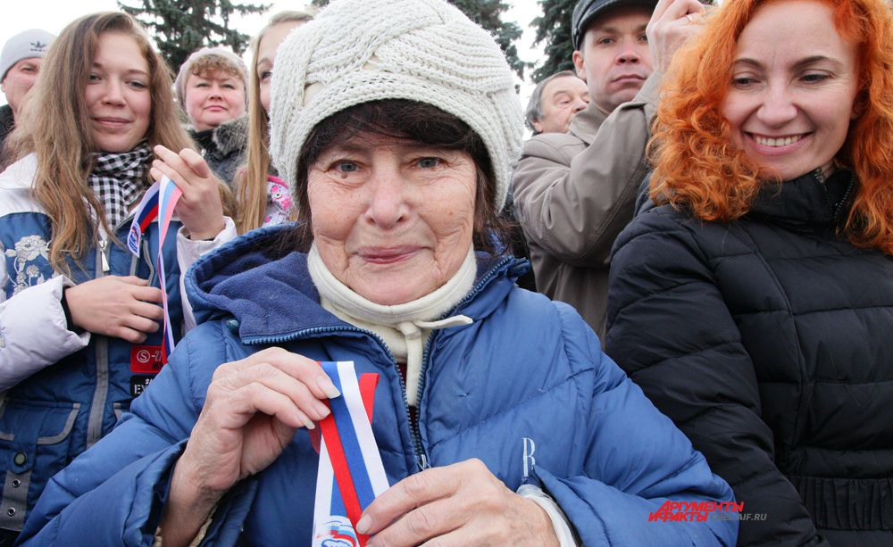 Праздник на площади Революции в Челябинске