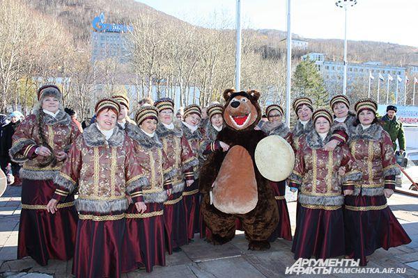 День народного единства в Петропавловске.