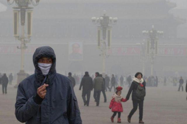 Смог во Владивосток пришёл из Китая?