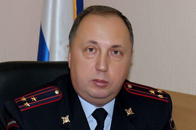 Полковник полиции Игорь Погадаев, заместитель начальника УМВД России по Оренбургской области.