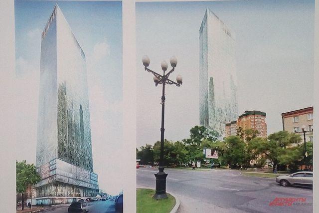 Проект возведения 52-этажного небоскреба вХабаровске завтра рассмотрит градостроительный совет региона
