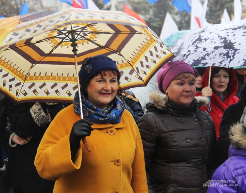 Зонт стал одним из символов шествия 2015 года
