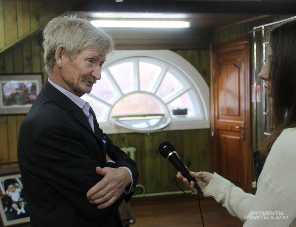 Церемония окрытия началась для Артура Рогова с общенитя с прессой