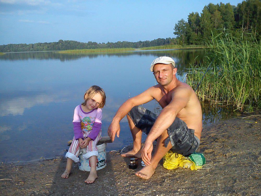 Инна Михайлова, победитель в номинации «В объективе папа», фоторабота «Веселая рыбалка».