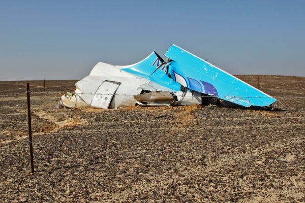 Обломки самолета Airbus A321 авиакомпании «Когалымавиа», выполнявшего рейс 9268 Шарм эш-Шейх - Санкт-Петербург.
