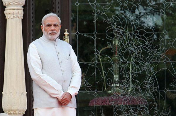 На девятом месте - индийский премьер-министр Нарендра Моди.