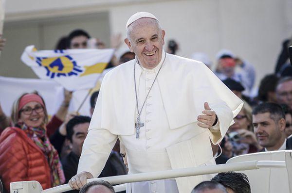 На четвертом месте, как и в прошлом году, – Папа Римский Франциск.