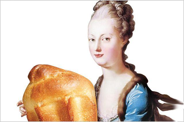 Фраза про пирожные так подходила Марии-Антуанетте, что прилипла к её имени уже навсегда.
