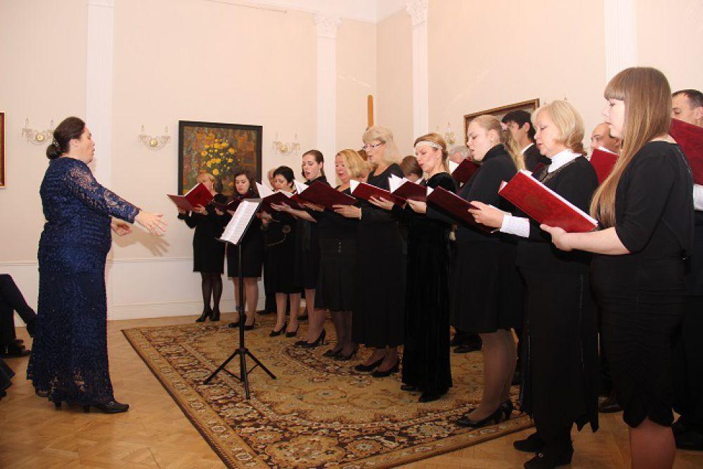 Выступление Губернаторской симфонической капеллы.