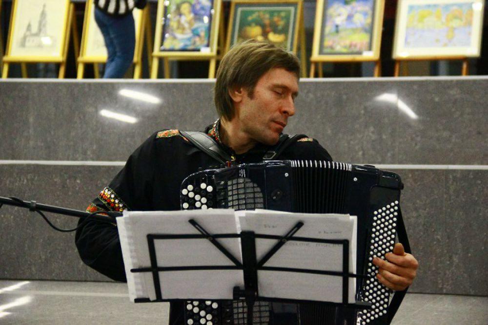 Выступление ансамбля «Губерния» в ККЗ «Пенза».