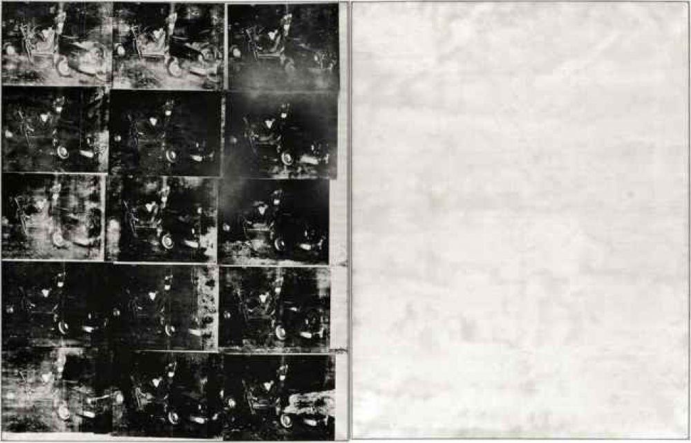 «Серебряная автокатастрофа (двойная)», Энди Уорхолл. Год создания: 1963. Дата продажи: 13 ноября 2013 года. Цена 105,4 млн. долларов.