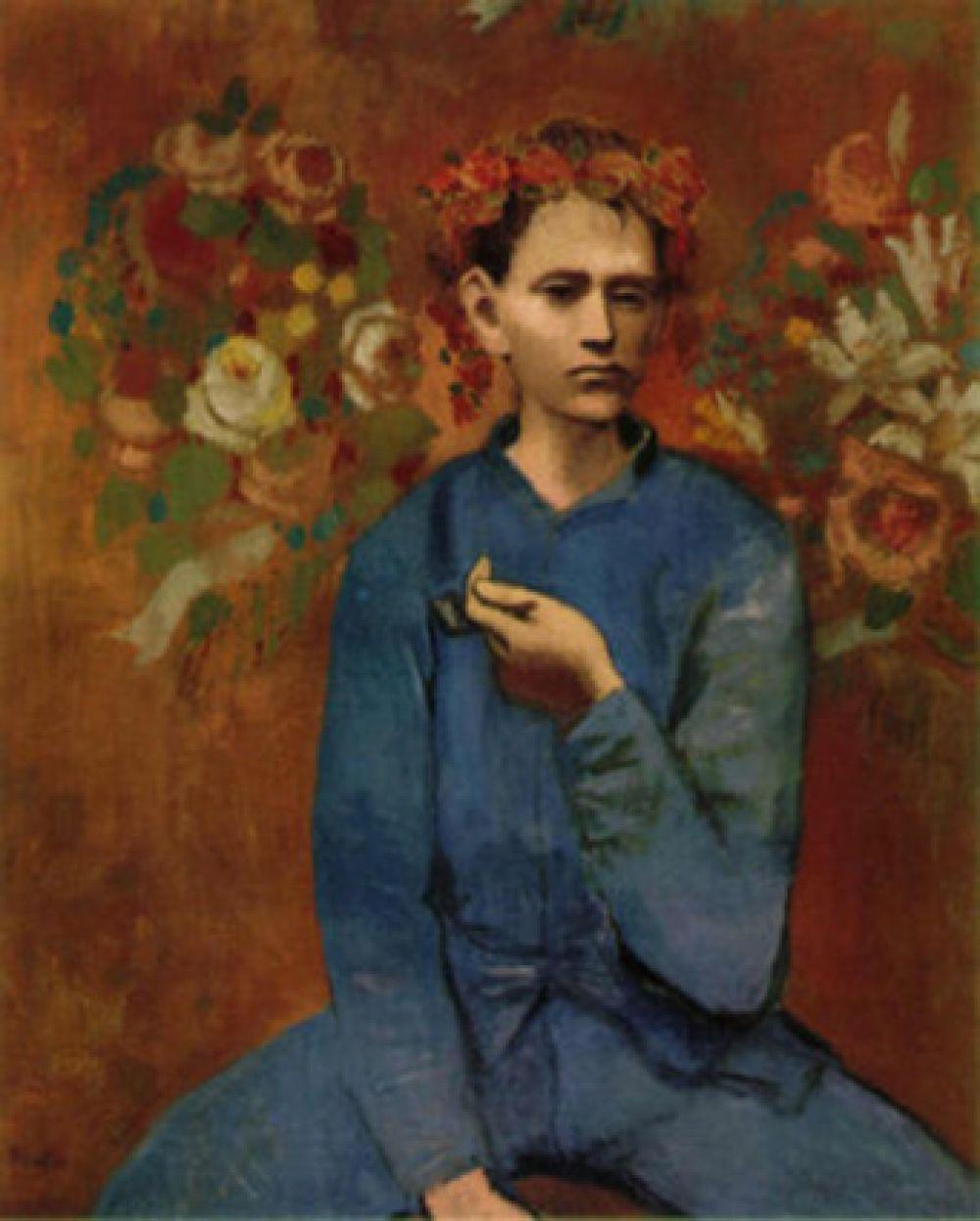 «Мальчик с трубкой», Пабло Пикассо. Год создания: 1905. Дата продажи: 4 мая 2004 года. Цена 104,1 млн. долларов.