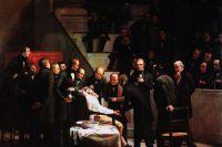 Первая операция под наркозом. Р. Хинкли.
