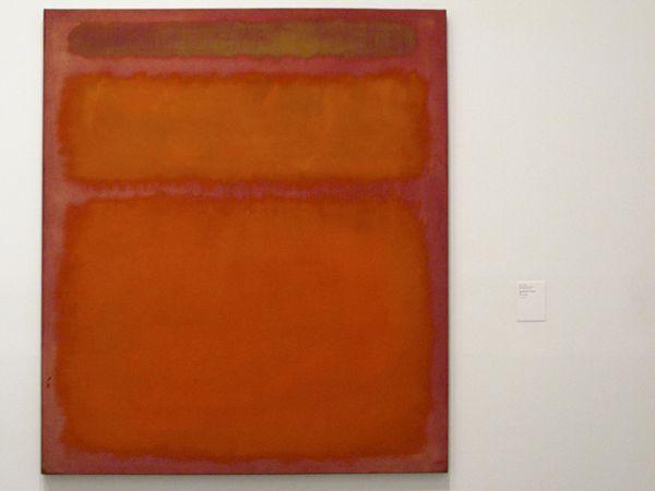 «Оранжевое, красное, желтое», Марк Ротко. Год создания: 1961. Дата продажи: 8 мая 2012 года. Цена 86,7 млн. долларов.