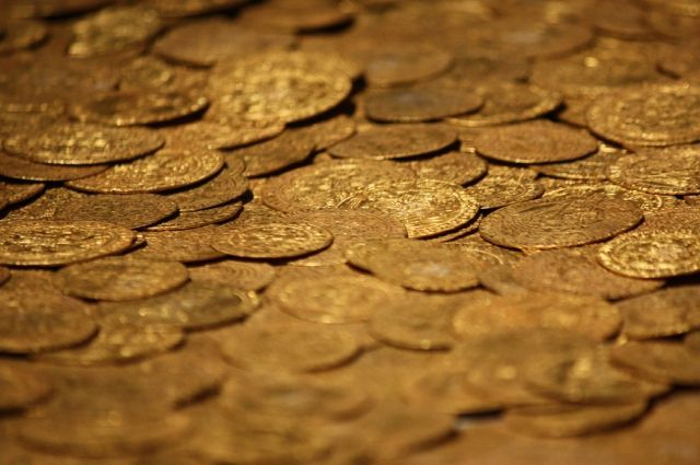 Количество и номинал найденных монет пока не известен.