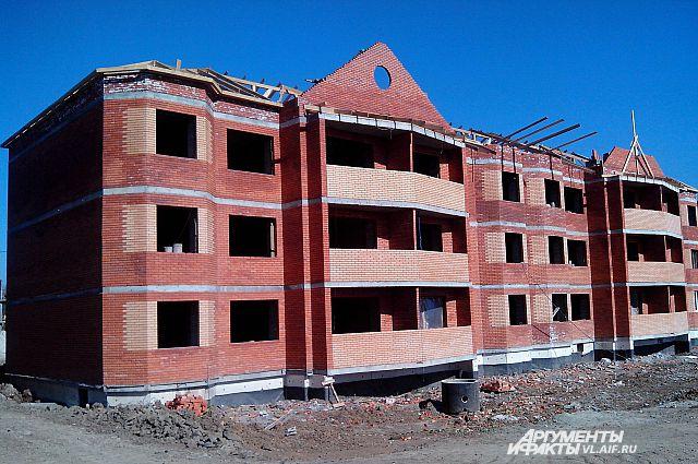 Посёлок «Радужный» будет состоять из таких домов.