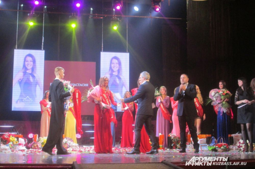 1-я вице-мисс Кузбасс-2015 Анастасия Шабанова.