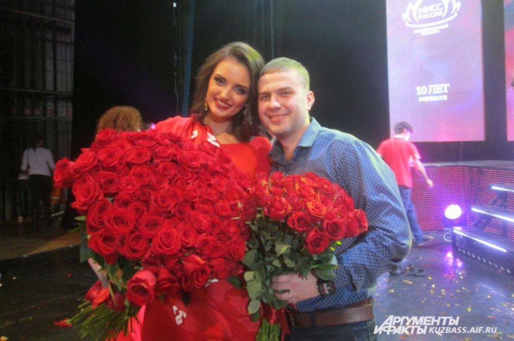 За один вечер Виктория Ганженко получила два подарка – предложение выйти замуж и титул вице-мисс.