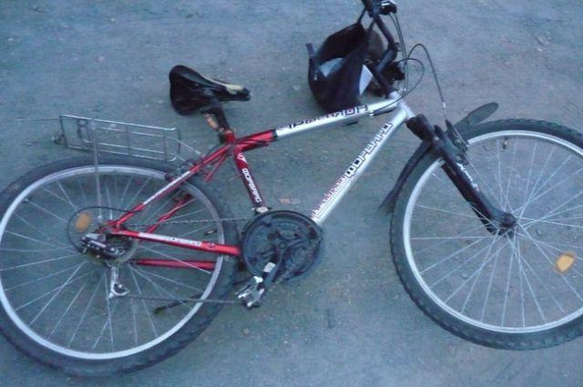 Лишившись водительского удостоверения, мужчина приобрёл велосипед.
