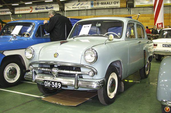 «Москвич-402» – модель, выпускавшаяся с середины 1950-х годов, сумела завоевать популярность за рубежом.