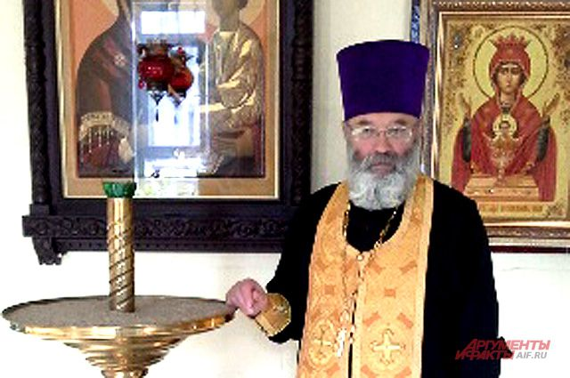 Руководитель тверского общества трезвенников Александр Горячев.