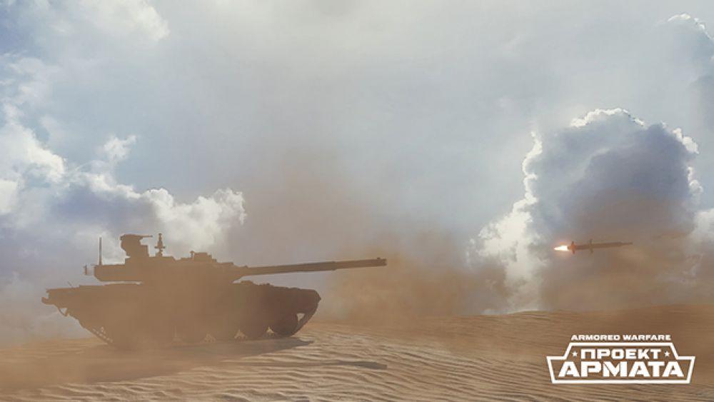T-90МС. Это одна из последних модификаций Т-90. T-90МС – экспортная версия основного боевого танка, оснащенная мощной пушкой/пусковой установкой 2A82, динамической защитой «Реликт», современной электроникой и комплектом оптико-электронного противодействия. В Armored Warfare: Проект Армата T-90МС продолжает традиции советских и российских ОБТ – низкий силуэт, очень мощная броня и отличная маневренность остаются фирменными знаками этой боевой машины.