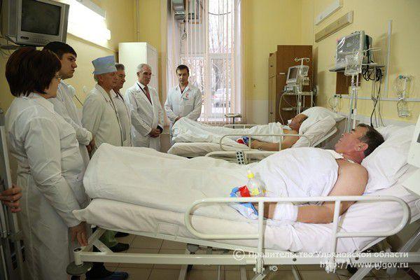 После той самой первой операции на работающем сердце пациента
