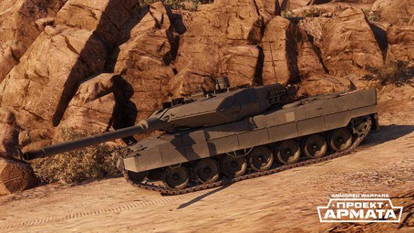 Основной боевой танк Leopard 2A6 – пожалуй, самая современная из используемых версий Leopard 2. Главное ее отличие от предшественников – это мощнейшая гладкоствольная пушка Rh 120 с длиной ствола 55 калибров, установленная вместо прежней Rh 120/L44. В Armored Warfare: Проект Армата Leopard 2A6 может быть модифицирован путем установки высокоуровневых средства защиты, в том числе – дымовых гранат и комплекса активной защиты. Благодаря своему тяжелому вооружению этот танк непременно займет достойное место на поле боя.
