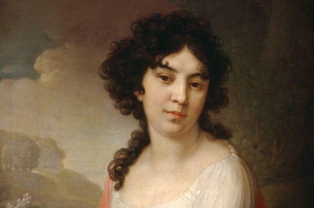 Портрет княгини А.П. Гагариной, урожденной Лопухиной. 1801г.