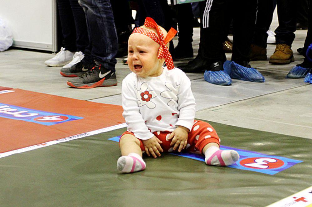 Каждый ребёнок боролся за звание самого быстрого в своей возрастной категории.