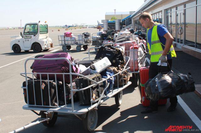 Сообщается, что багаж пассажиров будет отправляться отдельными рейсами.