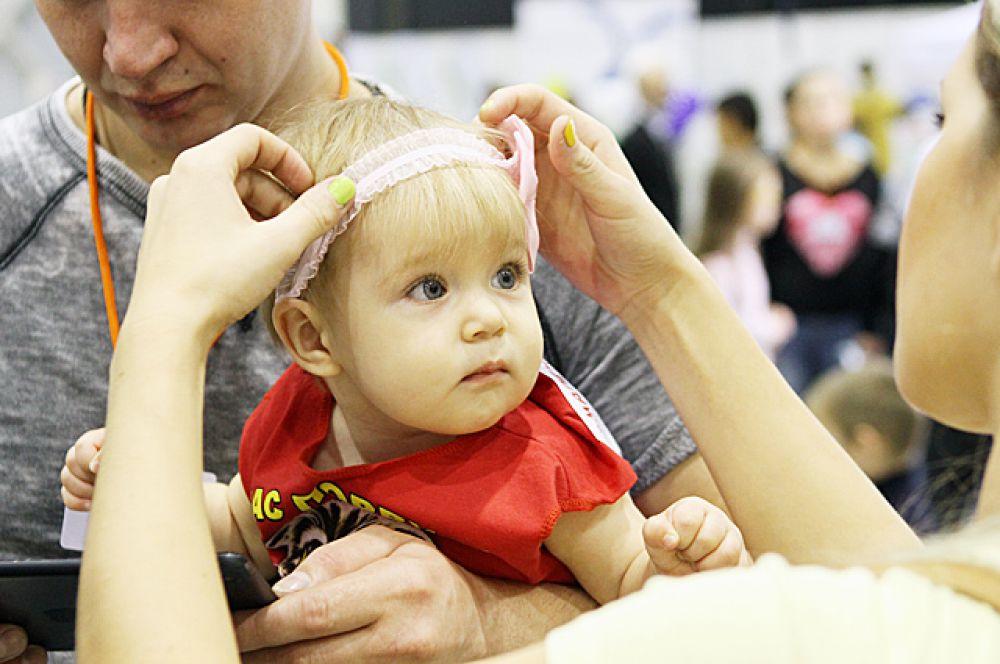 В этом году в мероприятии участвовали целых 300 младенцев!