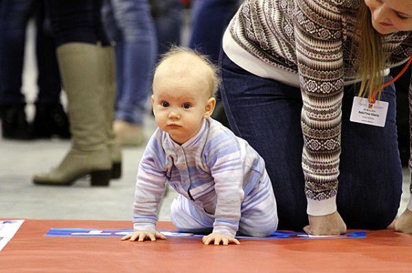 Чемпионат среди малышей «Маленький чемпион» прошёл в Новосибирске уже во второй раз.
