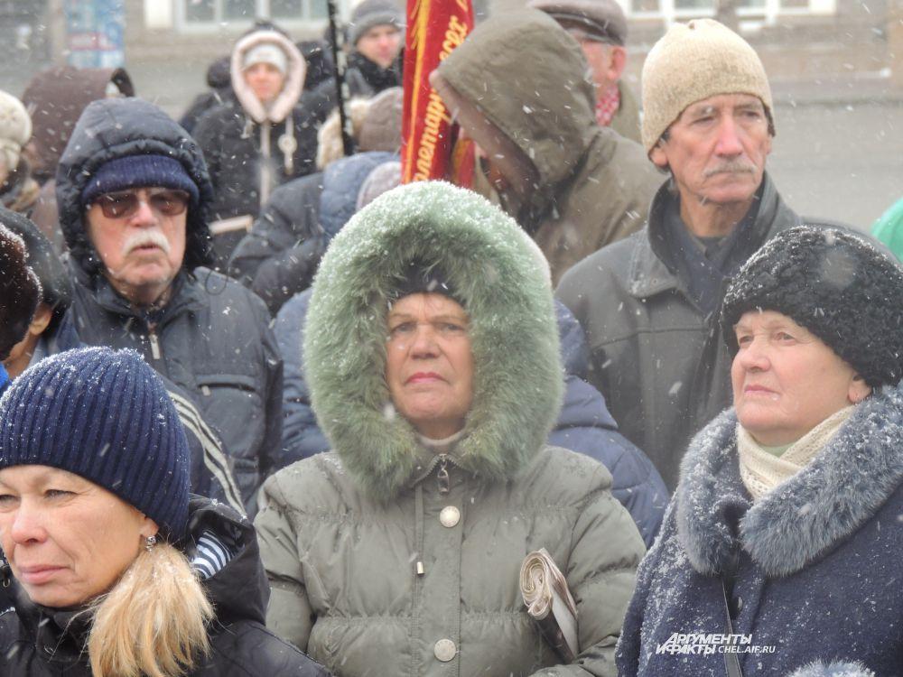 Демонстрация-2015 мало отличалась от митинга-1975.