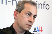 Заместитель министра обороны ДНР Эдуард Басурин.