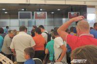 В египетском аэропорту усилены меры безопасности.