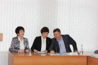 Татьяна Мелентьева крайняя слева.