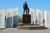 Мемориал «Солдатам правопорядка, погибшим при исполнении» в Челябинске.