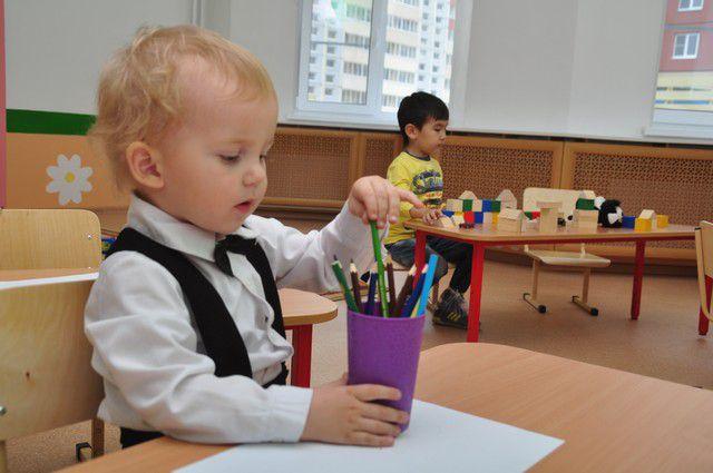 В Ленинском округе Омска открылся новый детсад.