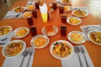 Так выглядят горячие обеды в столовой школы №11 Волгодонска.