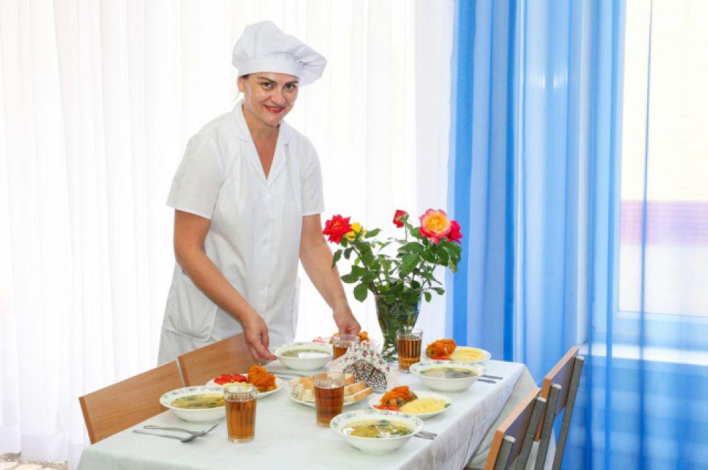 Дети могут купить блюда по выбору, но предпочитают комплексный обед.