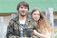 Деревня прокормит любого, кто не боится работы. Алексей и Полина Косенко. Фото: