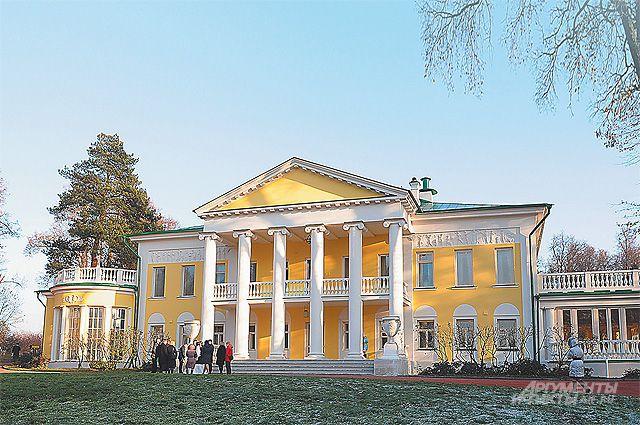 Такой увидел усадьбу Владимир Ильич 25 сентября 1918 г. в первый свой приезд для отдыха и лечения после покушения Фанни Каплан.
