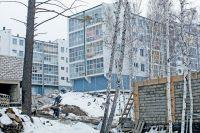 Вместо деревьев в Иркутске и пригороде вырастают дома.