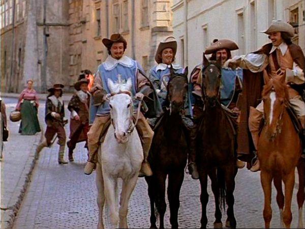 Кадр из фильма «Д`Артаньян и три мушкетера», 1979 г.